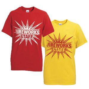 Fireworks Staff 600