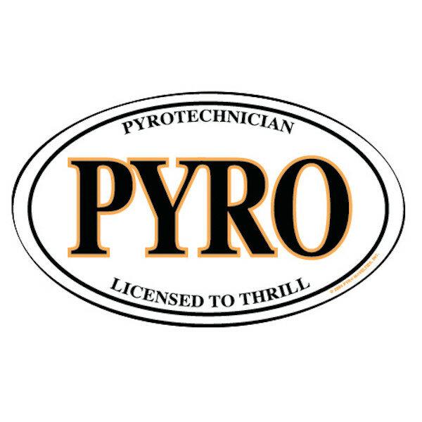 PNOS3 PYRO TECHNICIAN OVAL