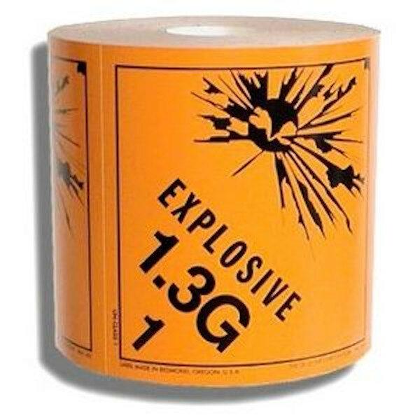 1.3 Explosives