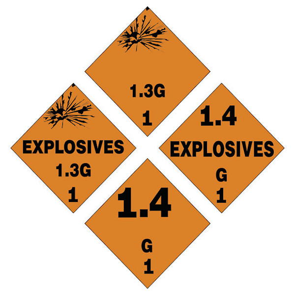 HAZARDOUS MATERIALS TAGBOARD GROUPING
