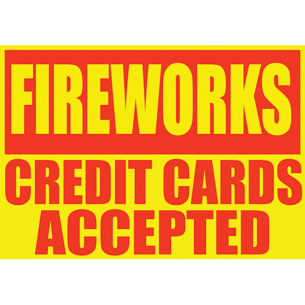 PNFAS-CC FIREWORKS CREDIT CARDS ACCEPTED