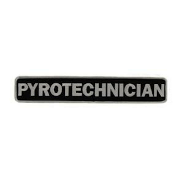 Pyrotechnician Patch