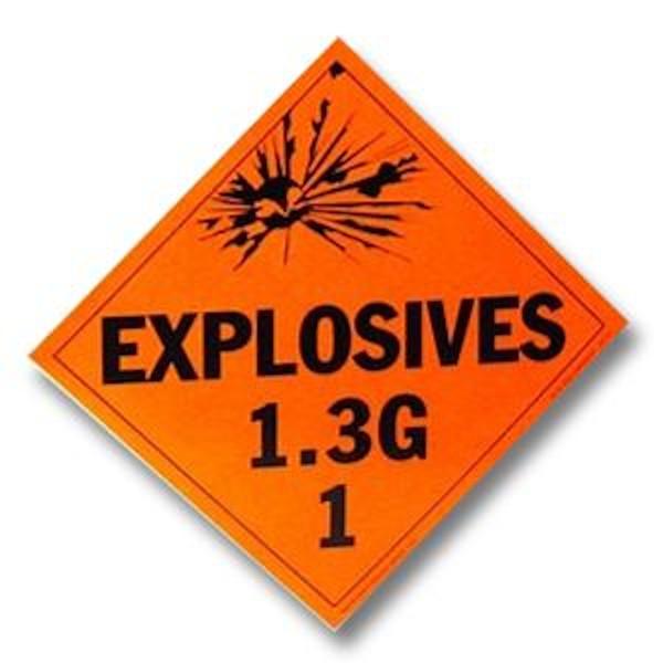 explosives 1-3