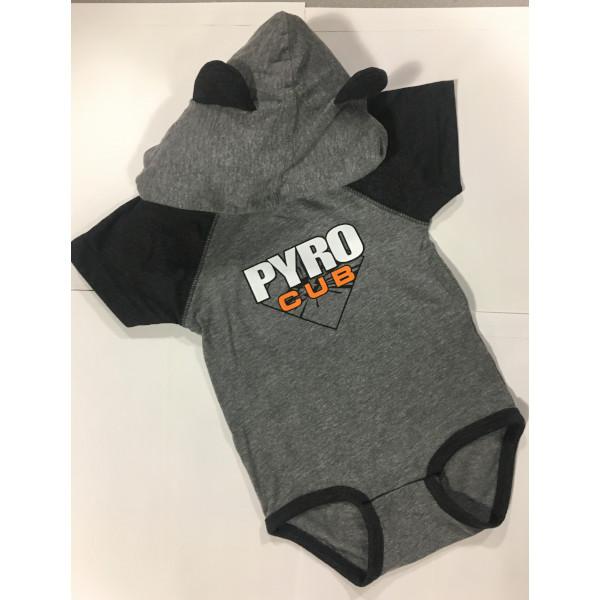 Pyro Cub Onesie 2
