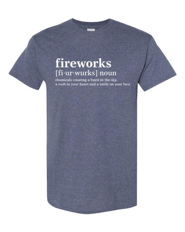 FIREWORKS DEFINITION TEE
