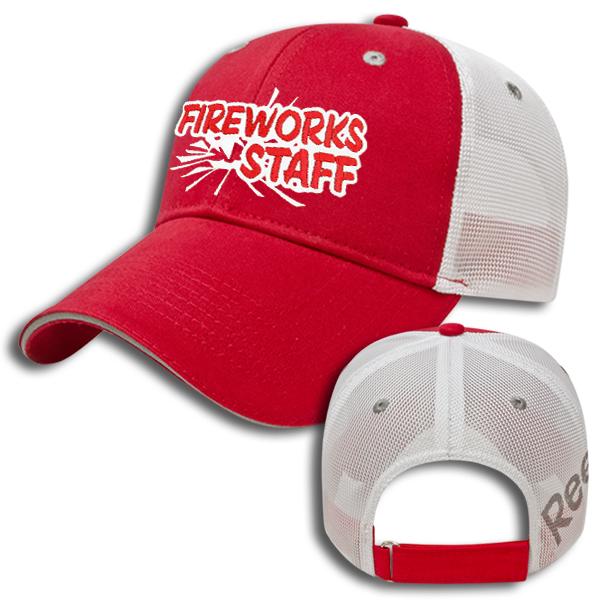 Fireworks Staff Hat