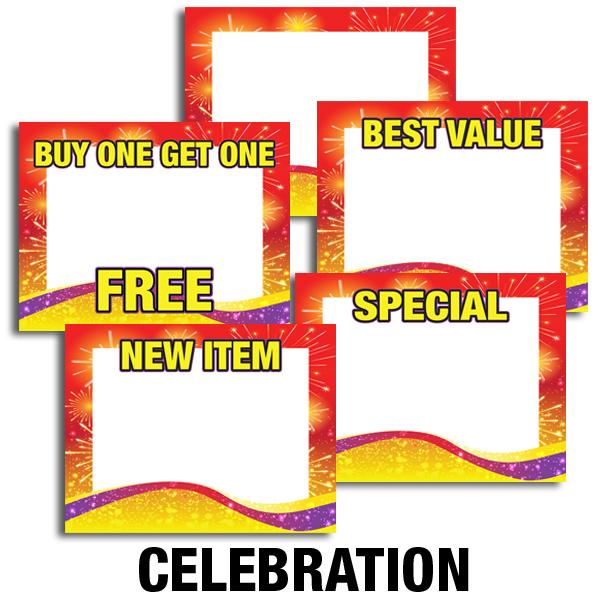 Price Cards Celebration